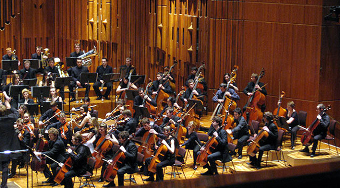 WEDNESDAY 9th NOVEMBER 7.30pm: GUILDHALL SYMPHONY ORCHESTRA AT THE BARBICAN: