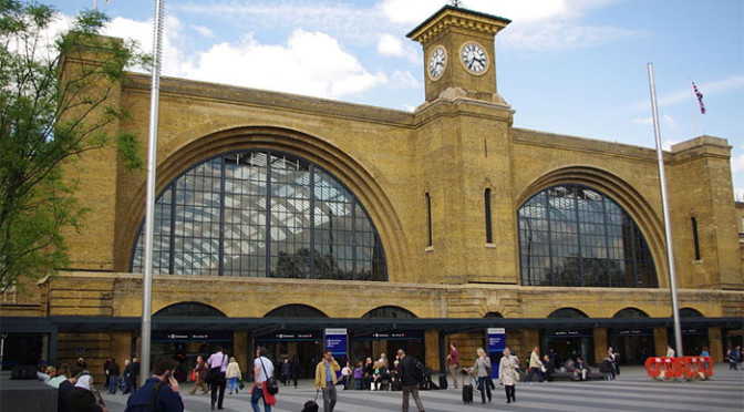 Wednesday 22nd April: Evening walk–Discover the new King's Cross (circular)
