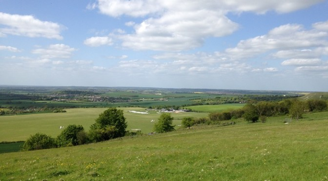 Saturday 16th May: Icknield Way Stage One: Ivinghoe Beacon (Tring) to Dunstable