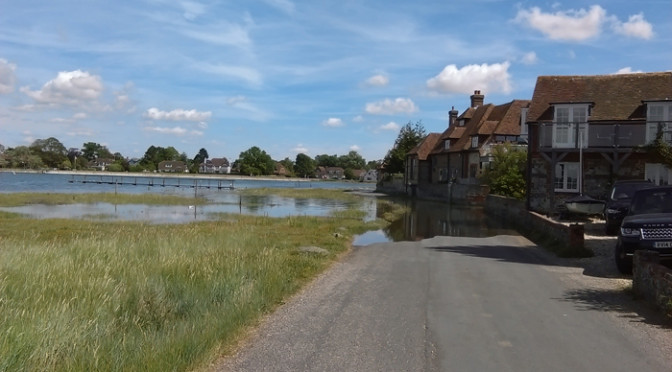 Saturday August 1st. Bosham to Chichester