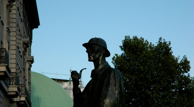 Thursday 8 September: Evening Walk – Sherlock Holmes Trail