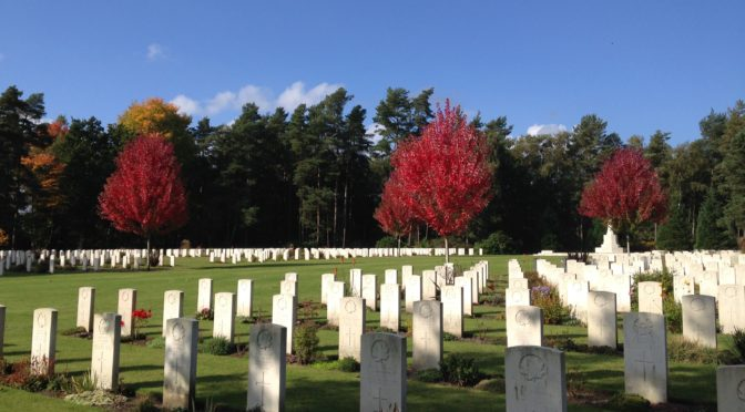 Saturday 15 October 2016: Brookwood Cemetery and Pirbright (Surrey)