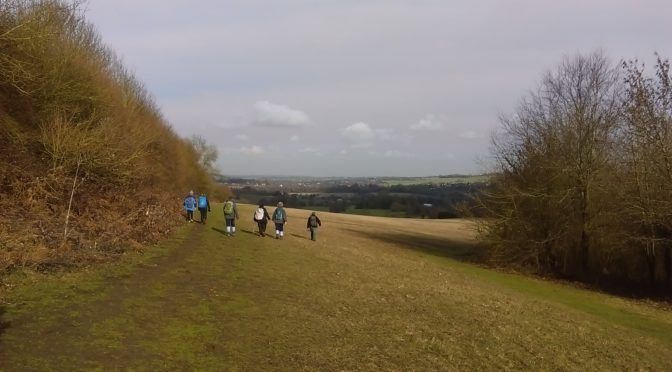 Saturday 3rd February, Otford to Eynsford
