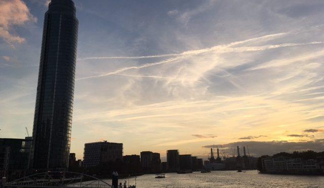 Thursday 26 October 2017 – Evening walk in Pimlico