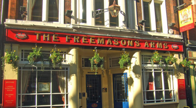 Sunday 10th, Club Christmas lunch, Freemasons Arms, Covent Garden