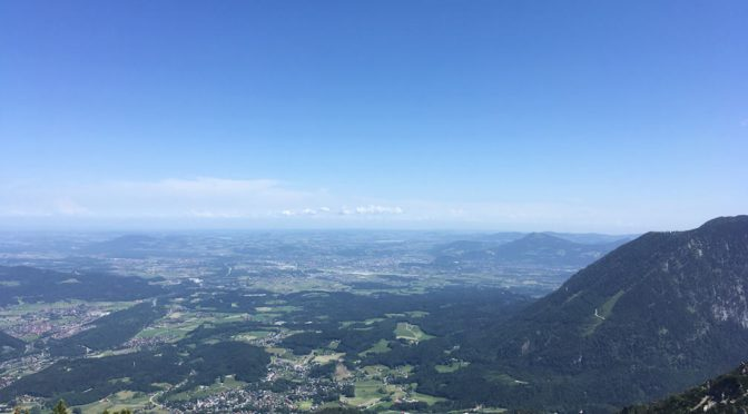 Friday 25/Tuesday 29 May 2018: Bad Reichenhall (Bavaria)