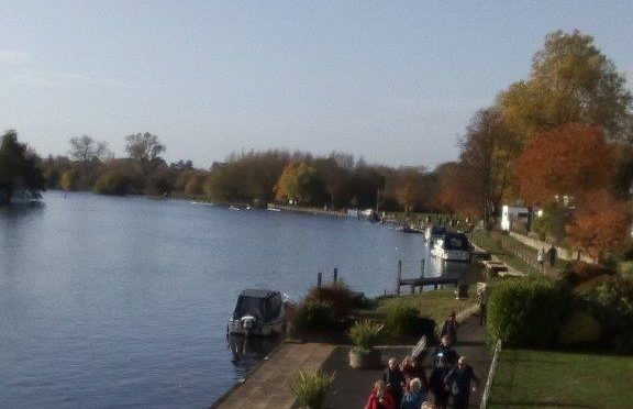 SATURDAY 10th NOVEMBER: MARLOW and COOKHAM DEAN (CIRCULAR):