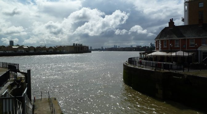 Saturday 2nd Limehouse to Greenwich (Linear)