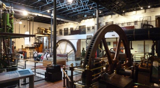 5th January London Water & Steam Museum. Walk to Hammersmith