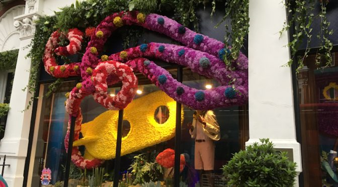 MONDAY 20th MAY: EVENING WALK – CHELSEA FLOWER SHOW FOR THE POOR (Chelsea in bloom)