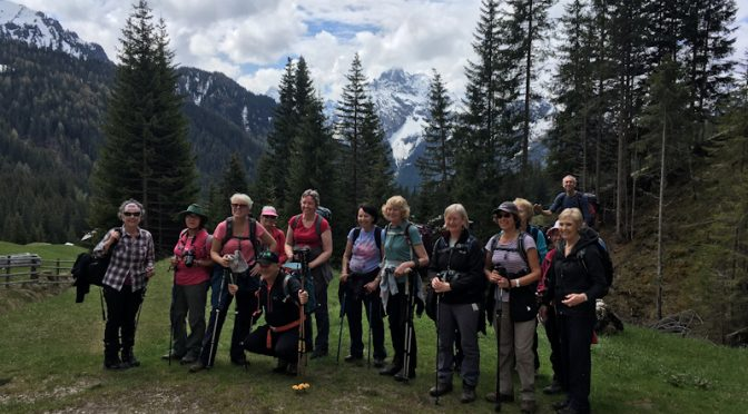 SPRING BANK HOLIDAY 2019, WALKING IN THE DOLOMITES