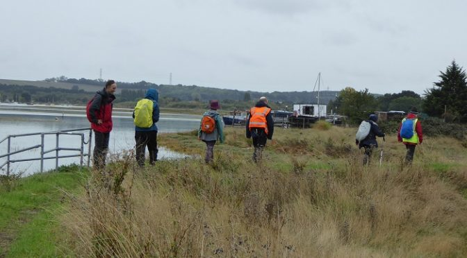 13th October. Saxon Shore Way 6. Bloors Wharf – Kingsferry Bridge