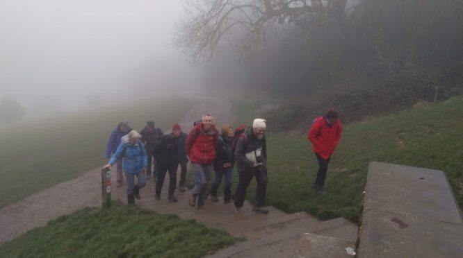 25th January Box Hill to Leatherhead