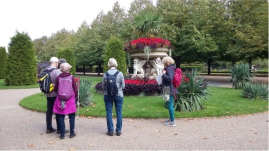 REGENTS PARK CIRCULAR – SATURDAY 12 SEPTEMBER
