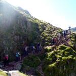 Climbing Scafel Pike