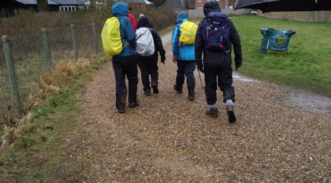 Saturday 10th February. Gerrards Cross circular.