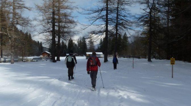 17th-20th January. Snow walking in Scharnitz Austria